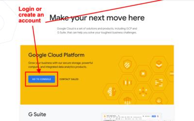 How to set up Google Cloud